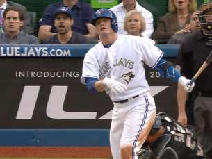 Donaldson lights up the scoreboard against White Sox