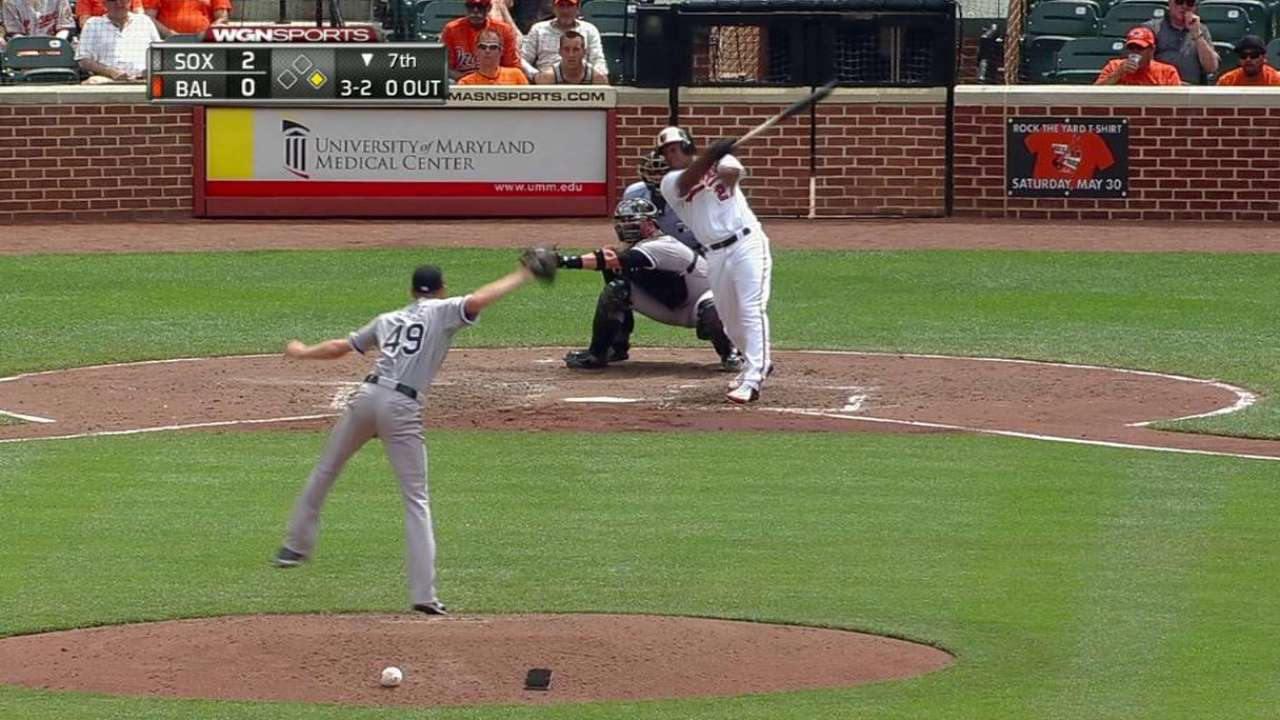 Sale's 10th strikeout