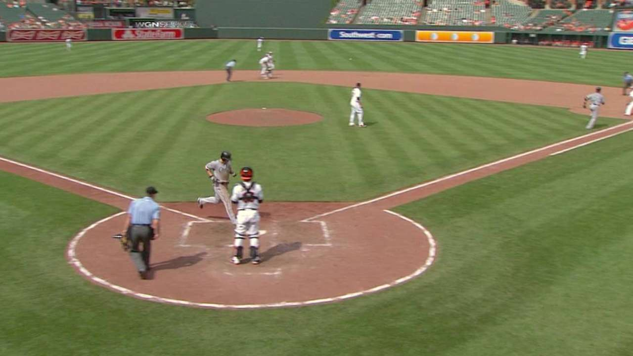 Flowers' RBI forceout