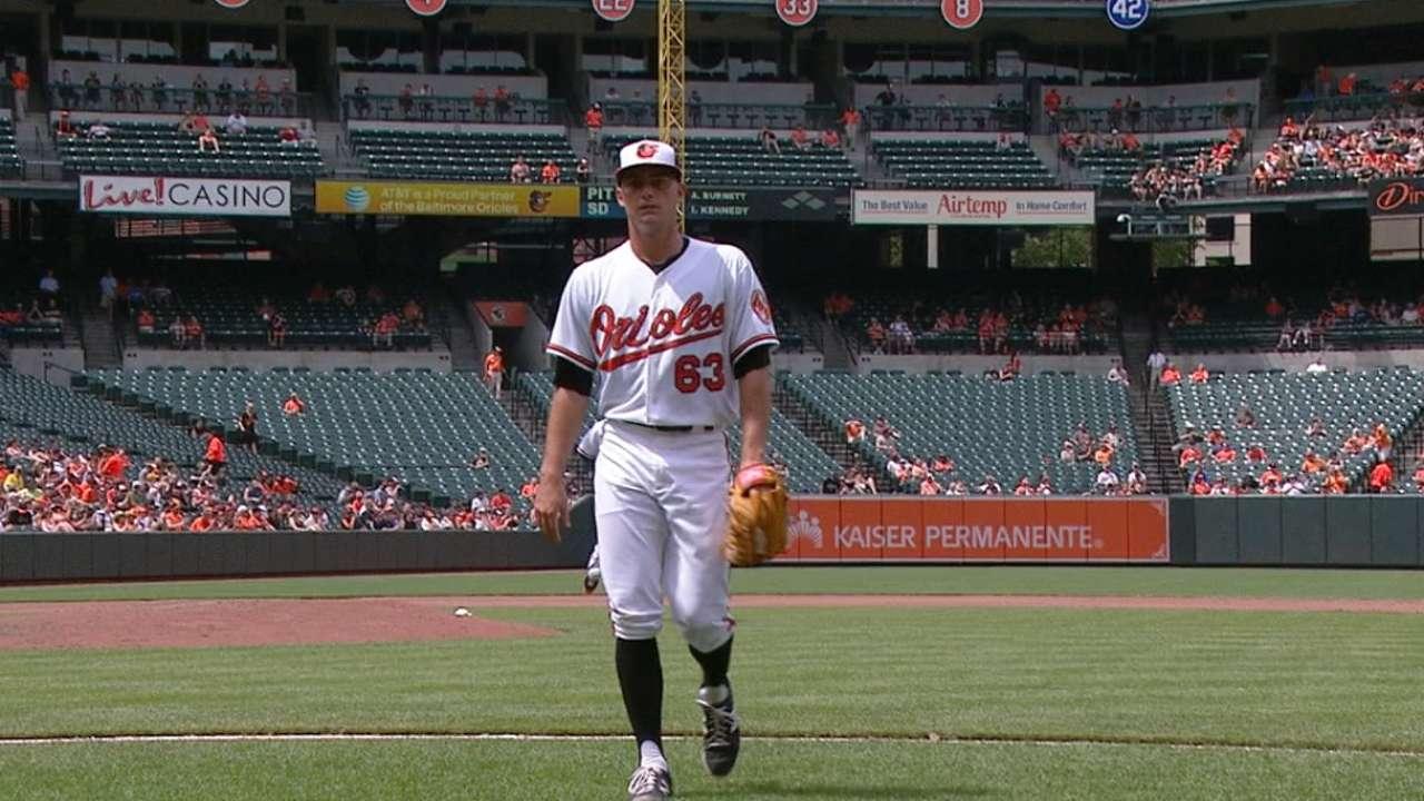 Wilson deals, duels in promising first MLB start