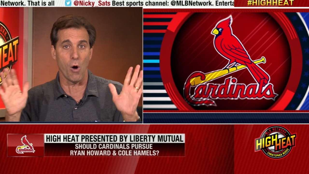 Mad Dog on Cardinals' Plan