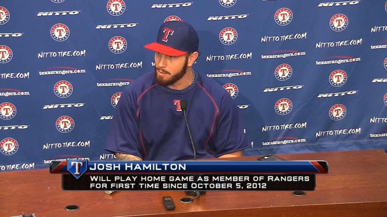 MLB Now on Hamilton's return