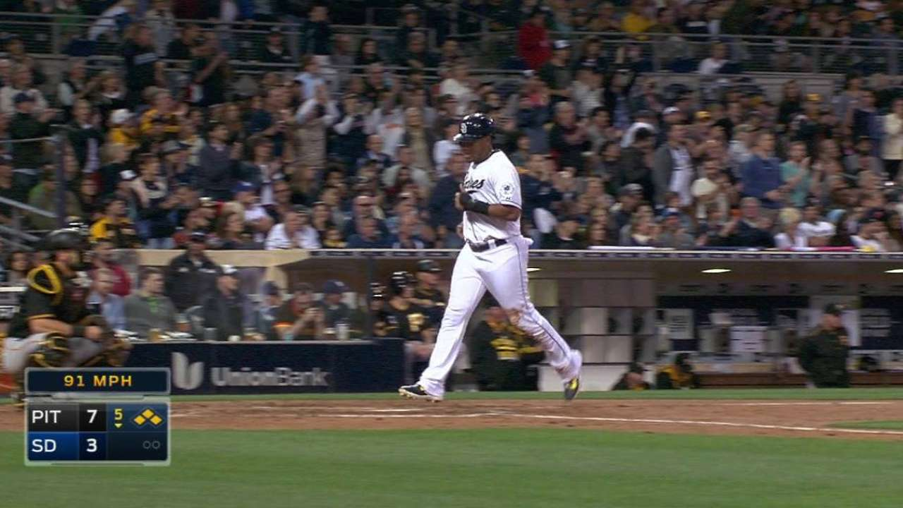 Kennedy struggles early and Padres can't recover