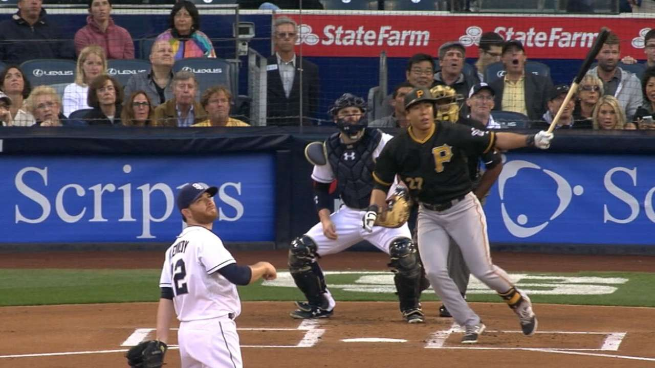 Bucs roll to seventh straight with rout of Padres