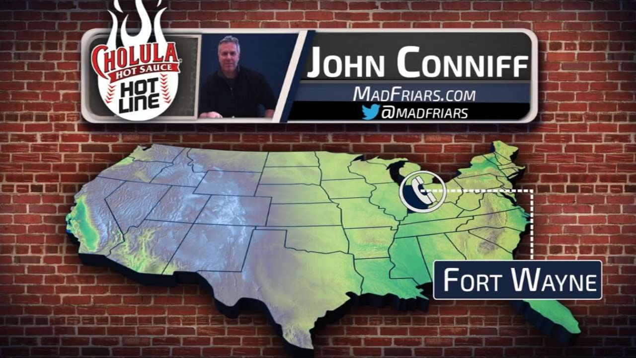 Conniff of MadFriars.com chats up prospects