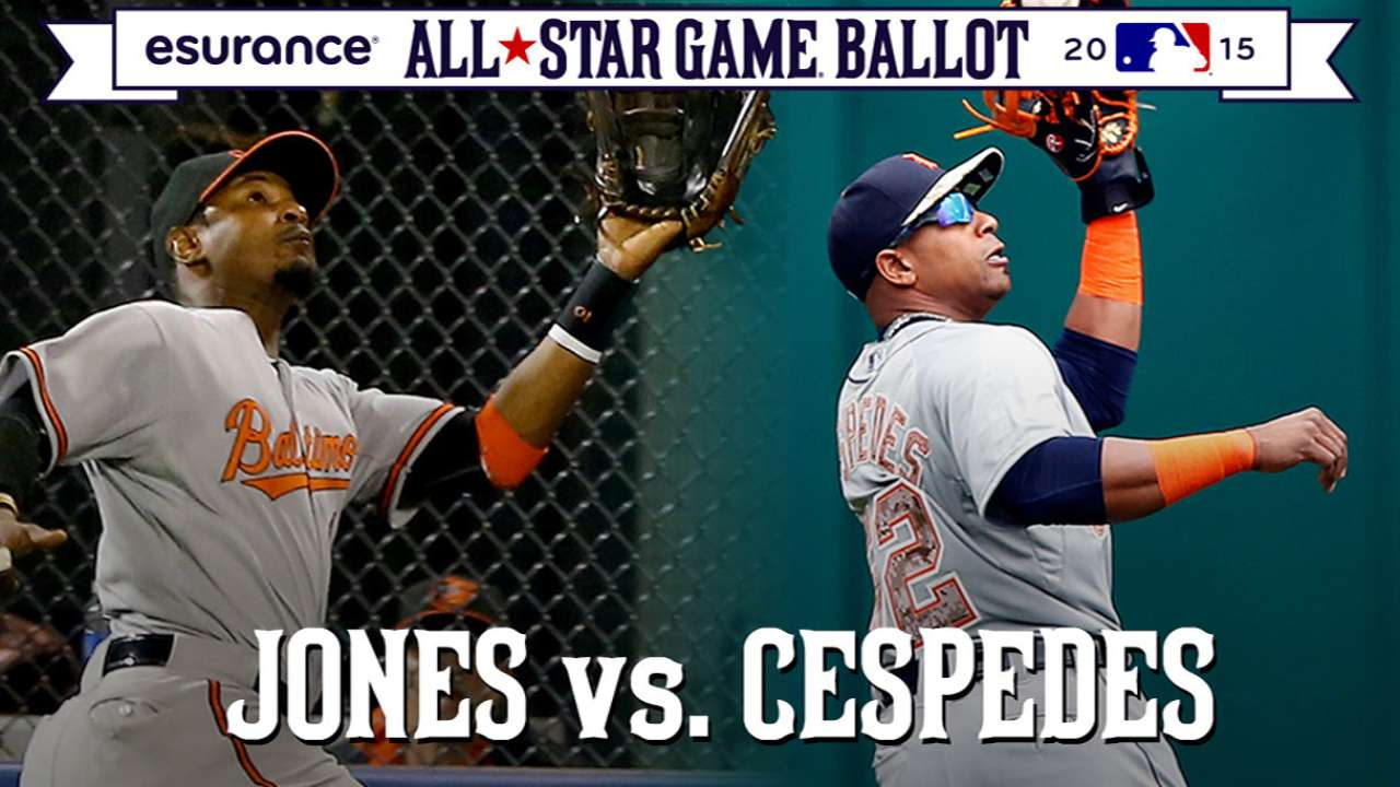 ASG debate: Jones or Cespedes in starting OF?