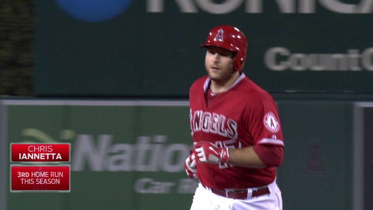 Angels crush three homers in rout of Tigers