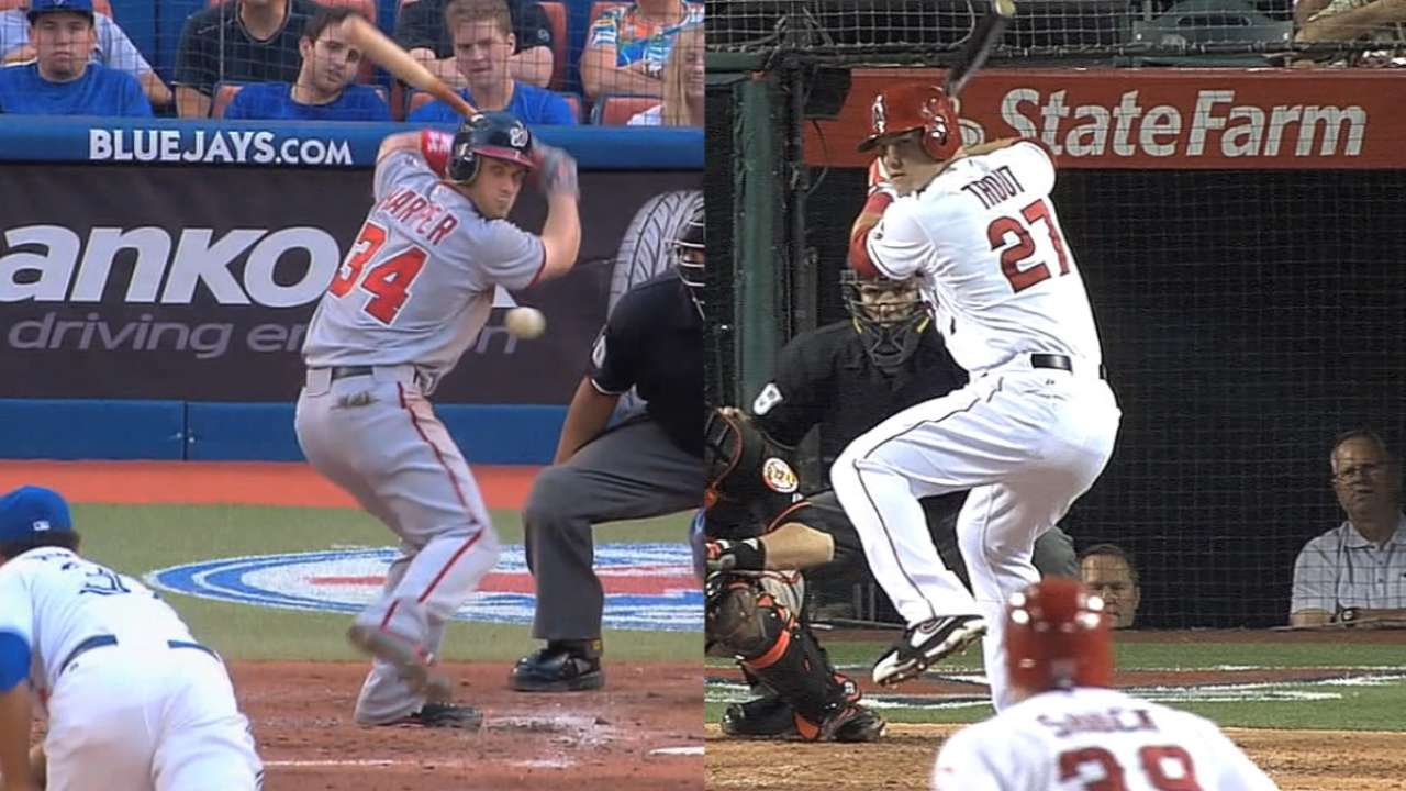 Trout-Harper connection dates back to 2011