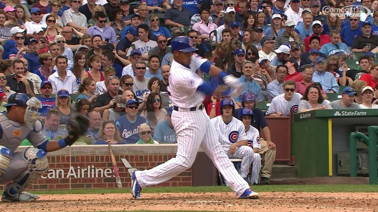 Cubs' homers not enough vs. Royals
