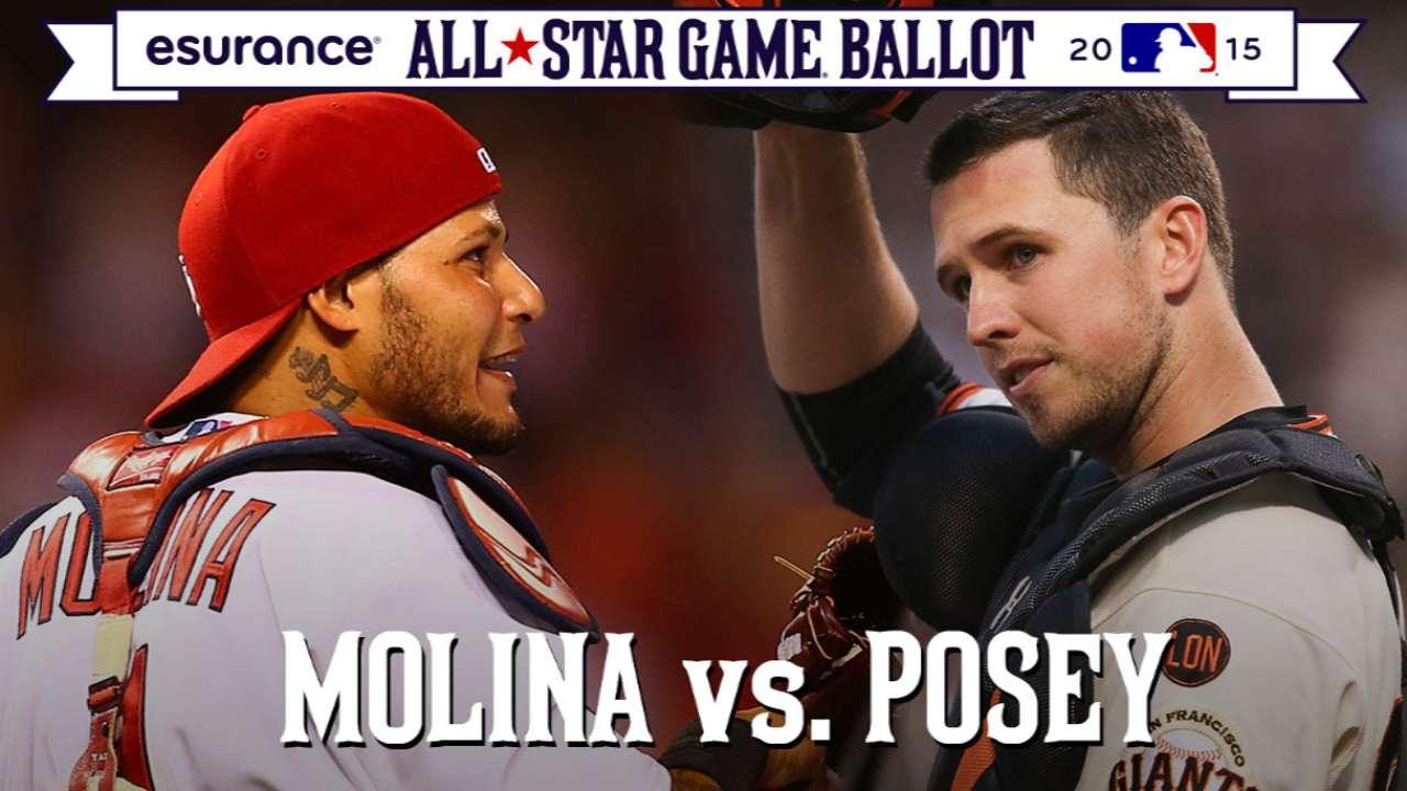 ASG debate: Posey's bat or Yadi's glove?