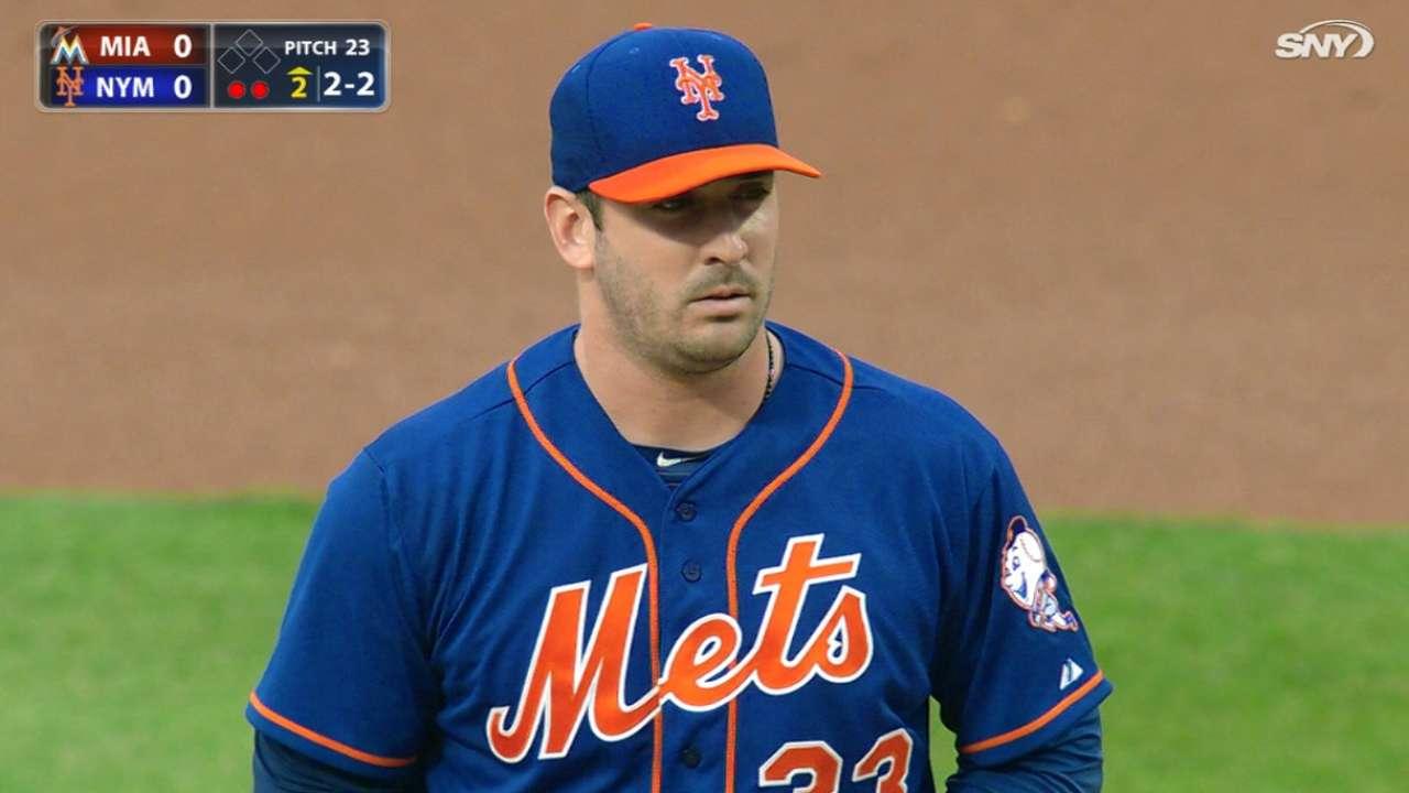 Harvey poncha a 11, pero Mets cae ante Marlins en Citi Field
