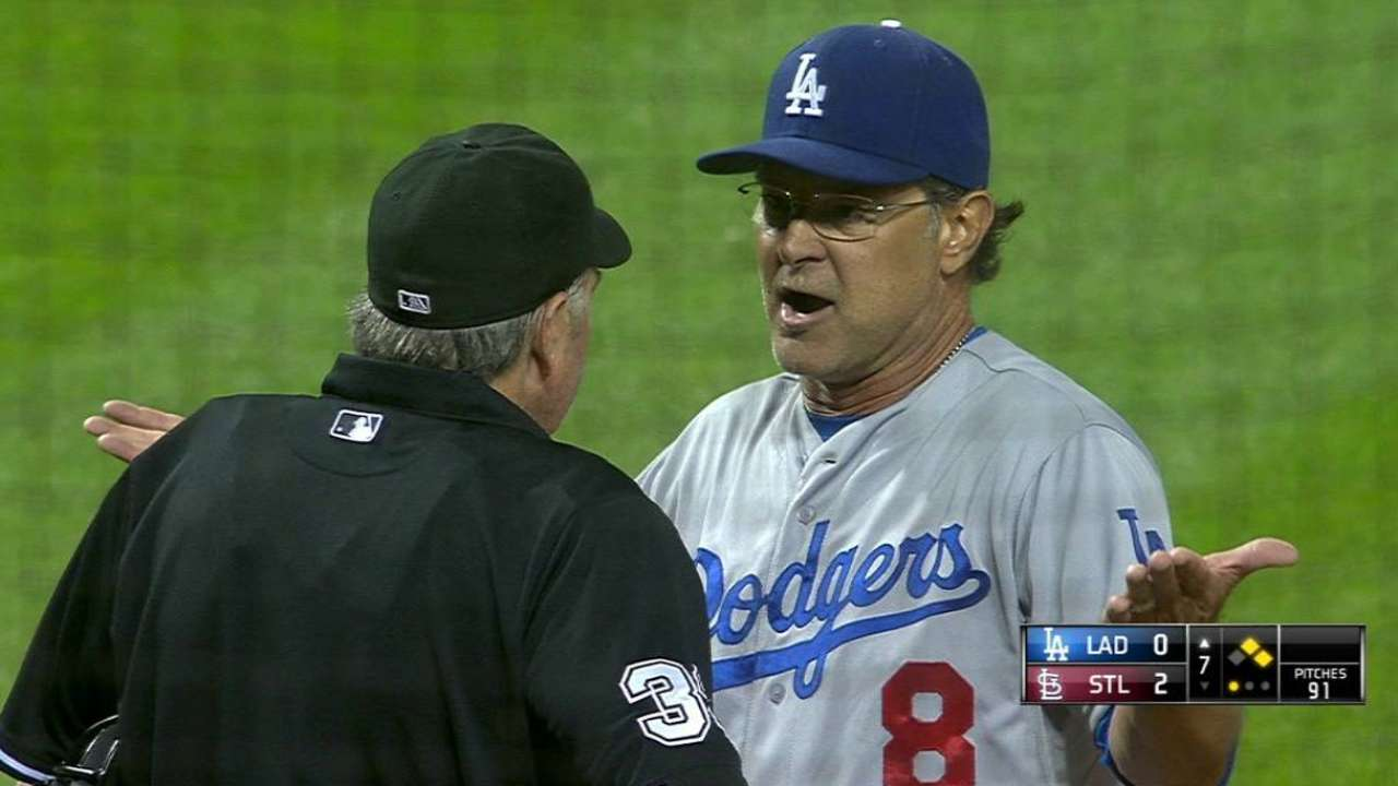 Mattingly gets ejected