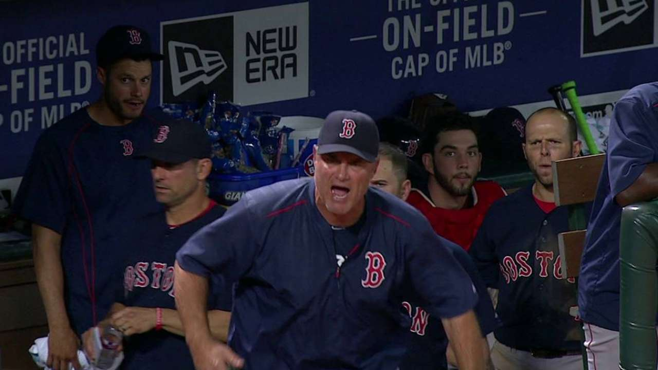 Napoli, Farrell get tossed