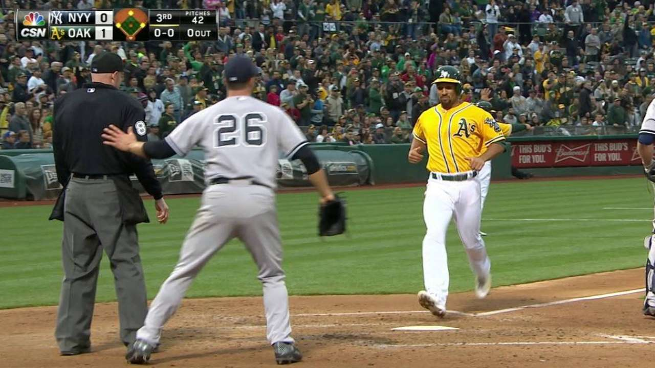 Butler's RBI double