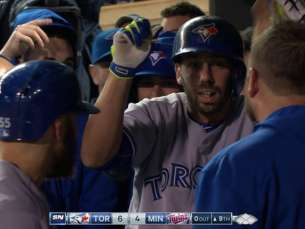 TOR@MIN: Colabello's two-run jack breaks tie in 9th