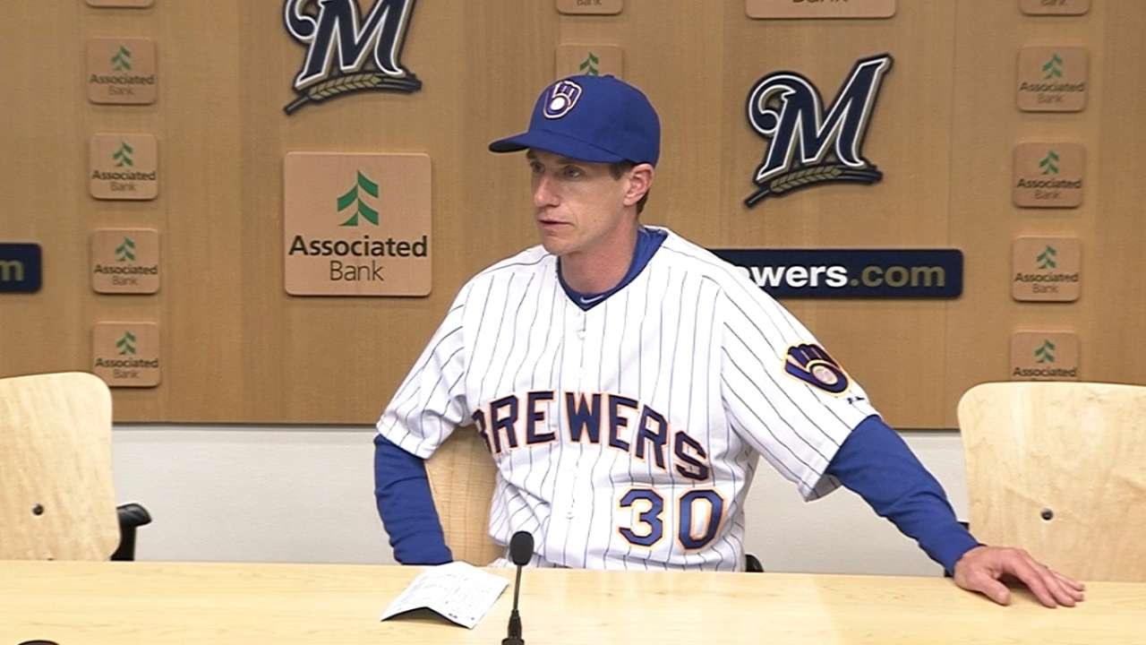 Counsell ready to switch up bullpen roles