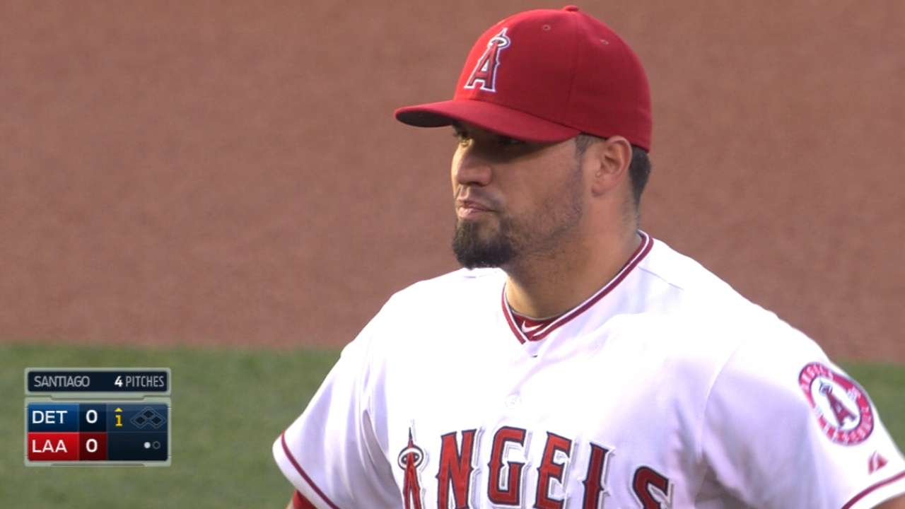 Santiago, defense Angels' keys for success