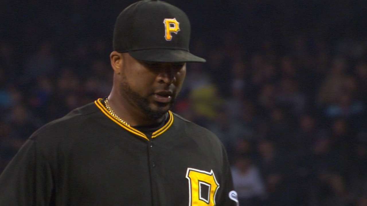 Liriano fans 11, but bullpen coughs up game