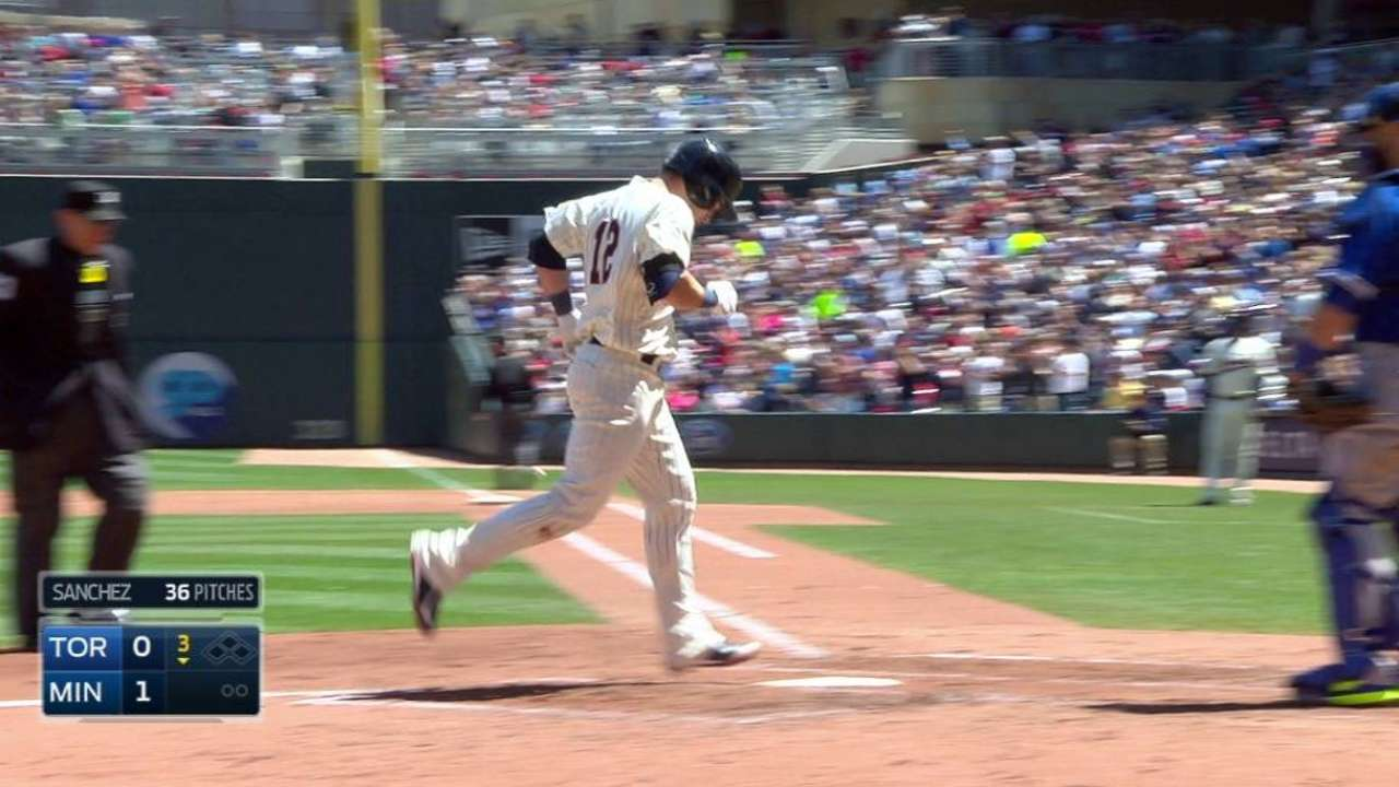 Herrmann's solo home run