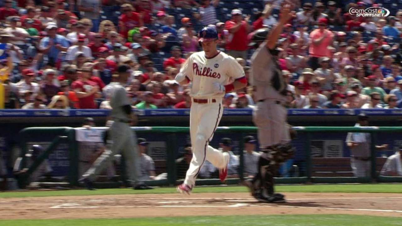 Howard's RBI double