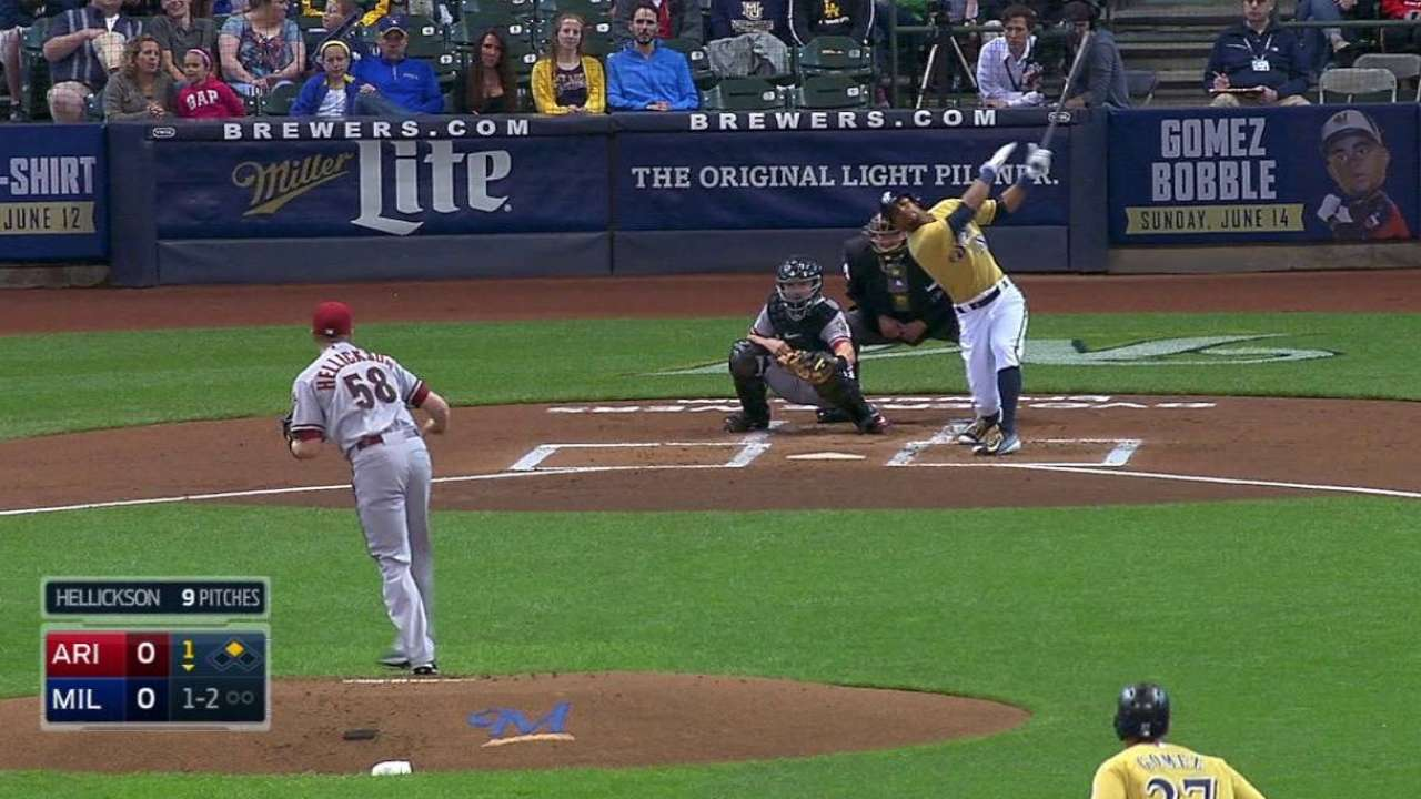Hellickson's 500th strikeout
