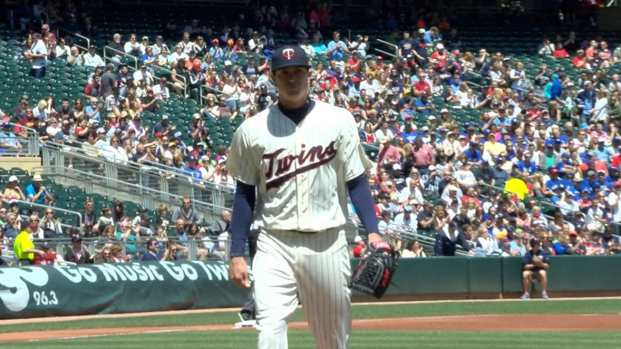 Gibson keeps Twins in the game despite struggles