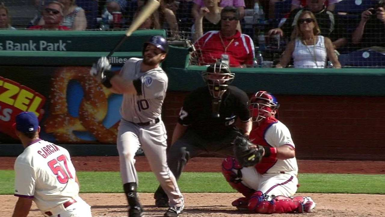 Paulsen's solo home run