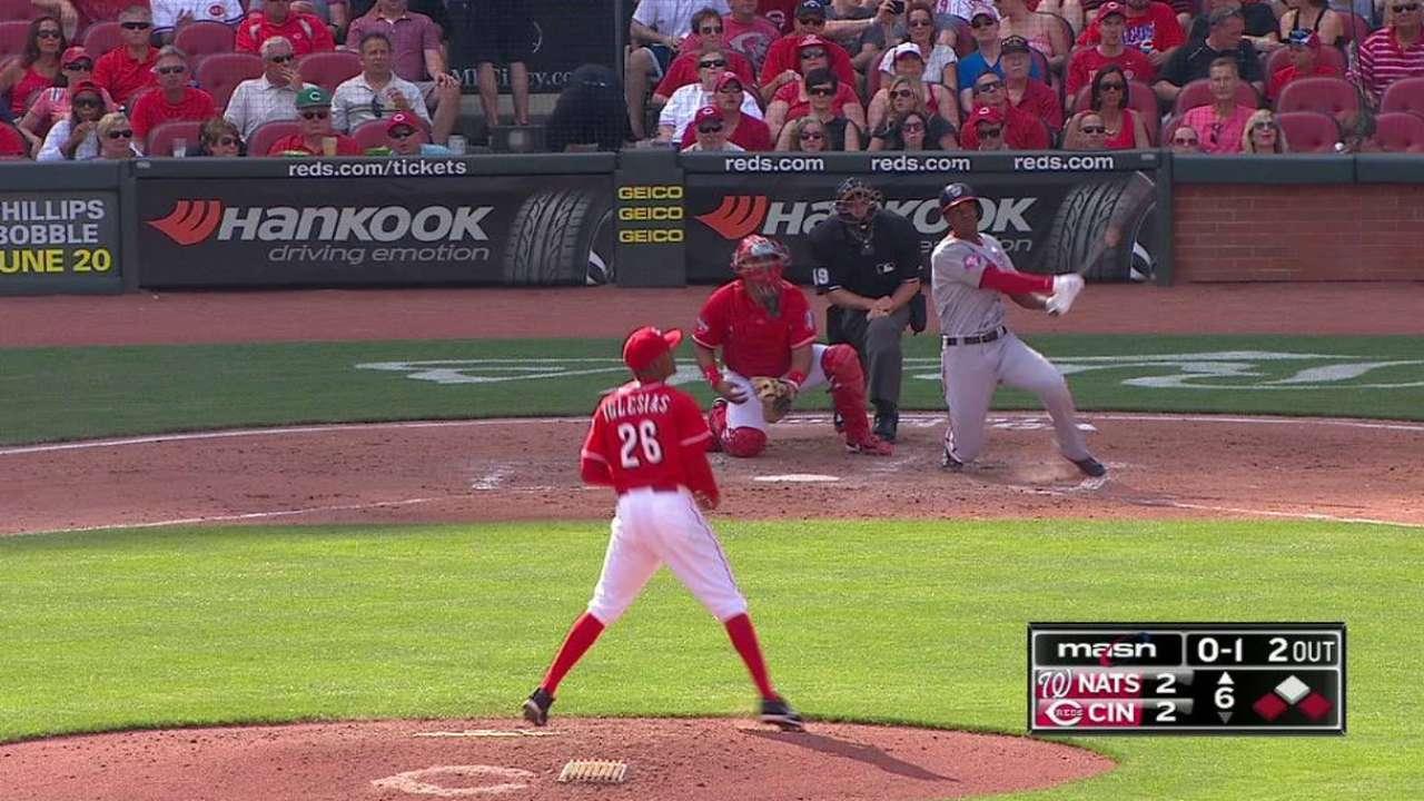 Taylor's three-run homer
