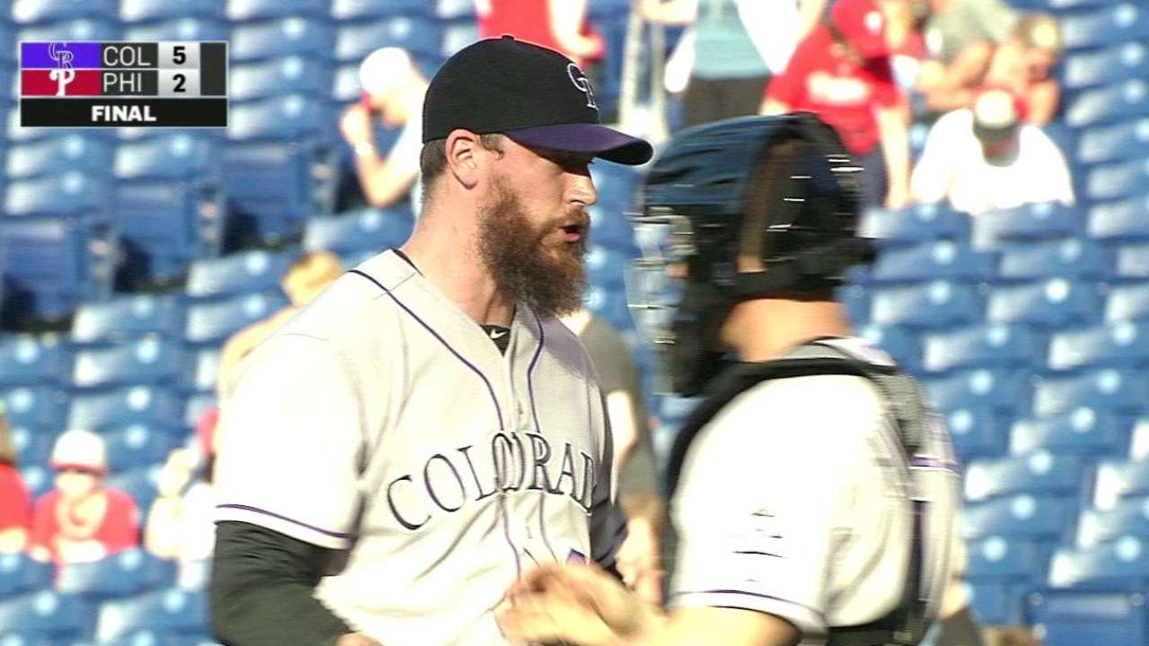 Axford steps effectively into closer role