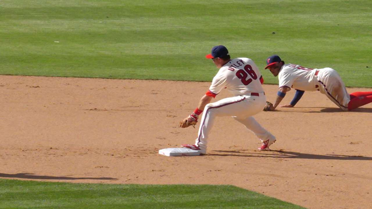 Galvis' marvelous flip for force