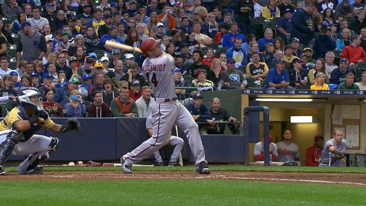 Goldy's at-bats must-see events from dugout