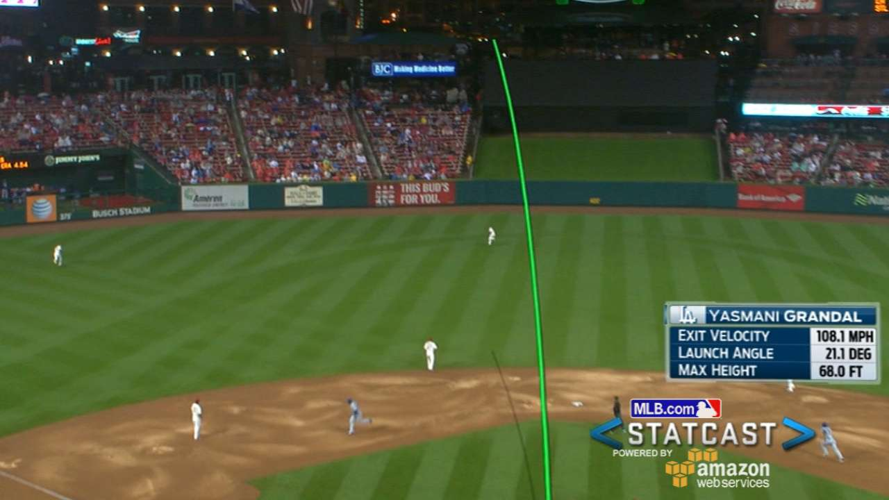 Statcast: Grandal makes powerful impact in return