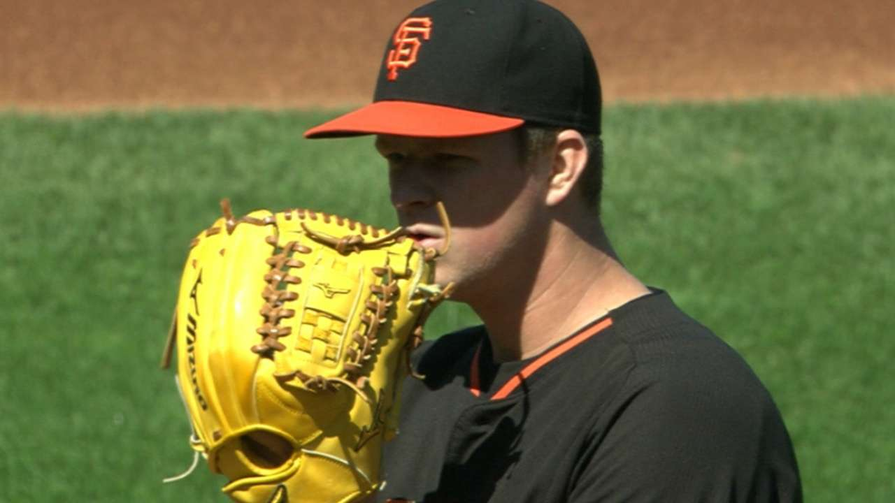 Giants circling rotation options with Cain, Peavy