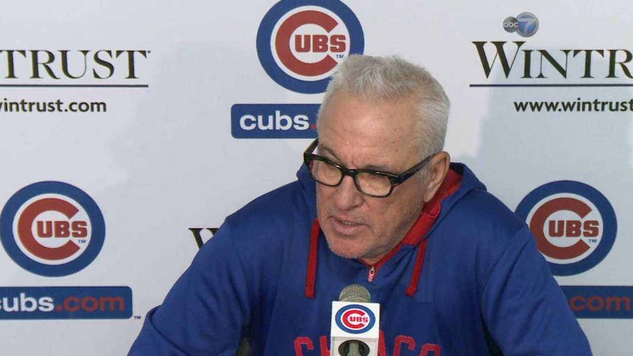 Maddon says Cubs can fix routine mistakes