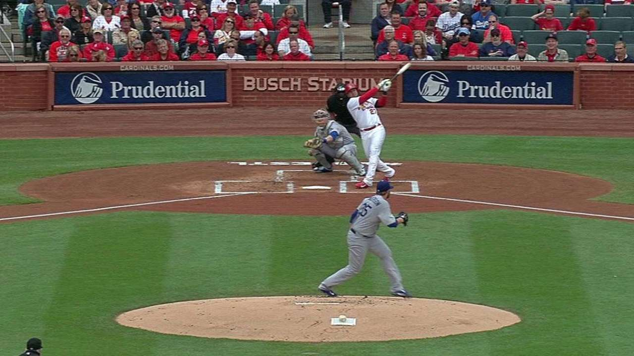 Peralta carries Cards' offense from three-spot