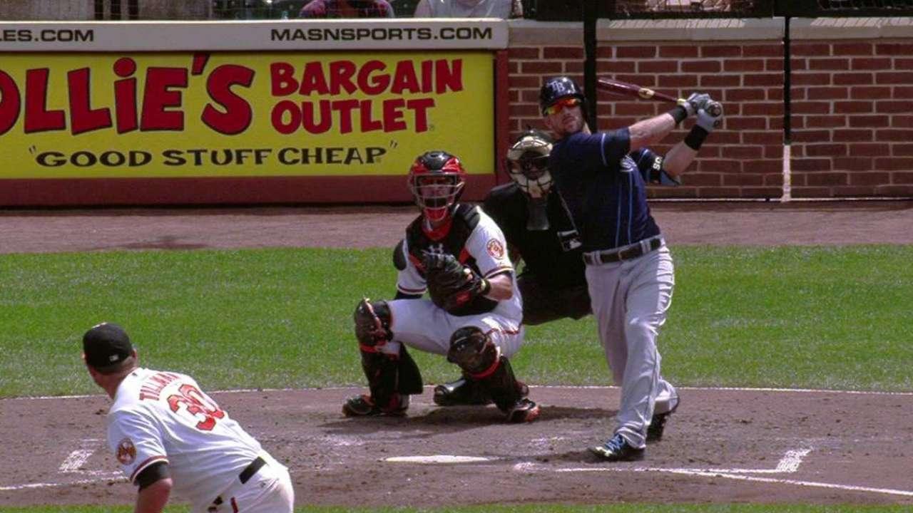 Souza's three-run homer