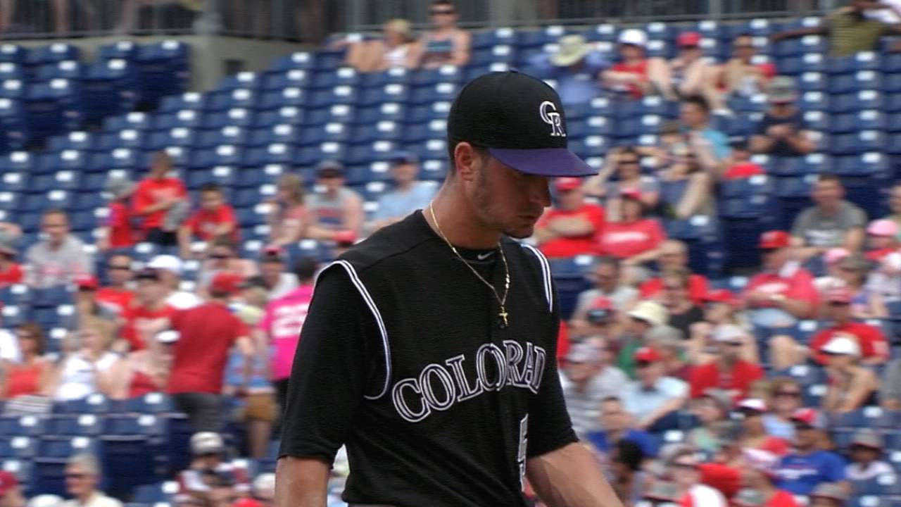Rusin's start Saturday could be start of something