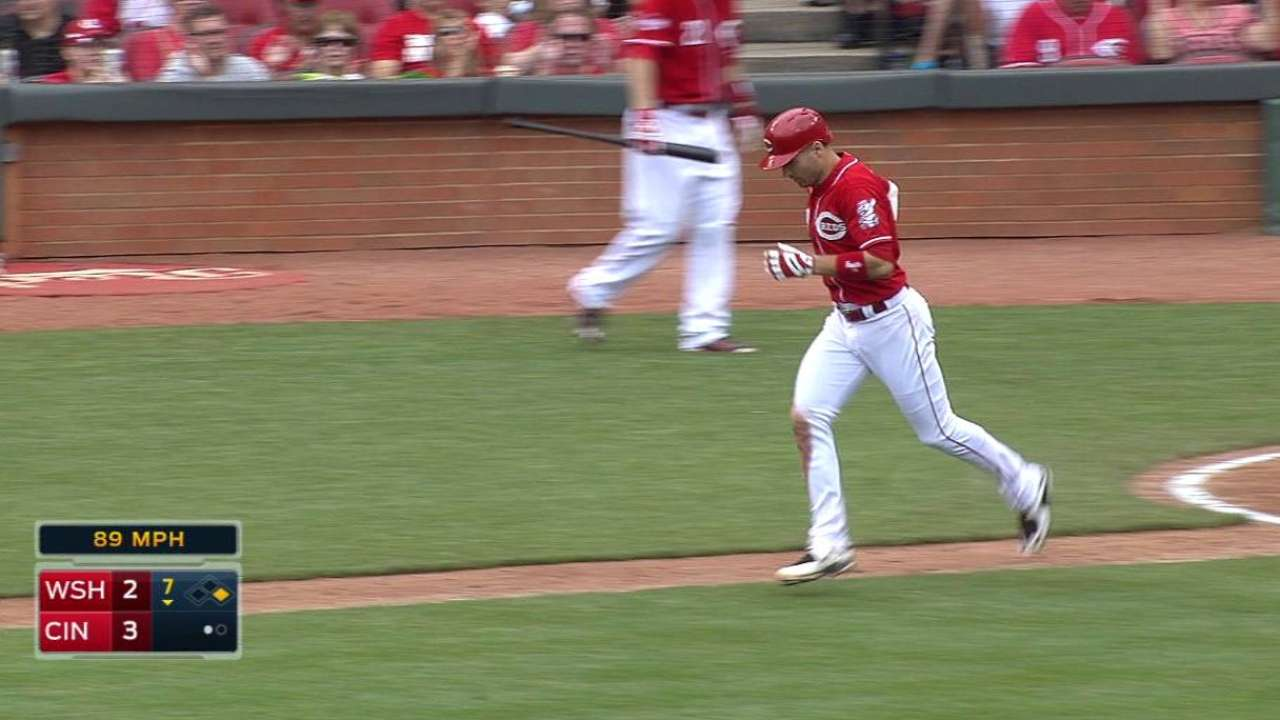 Williams, Nats moving past Votto's 3-pitch walk