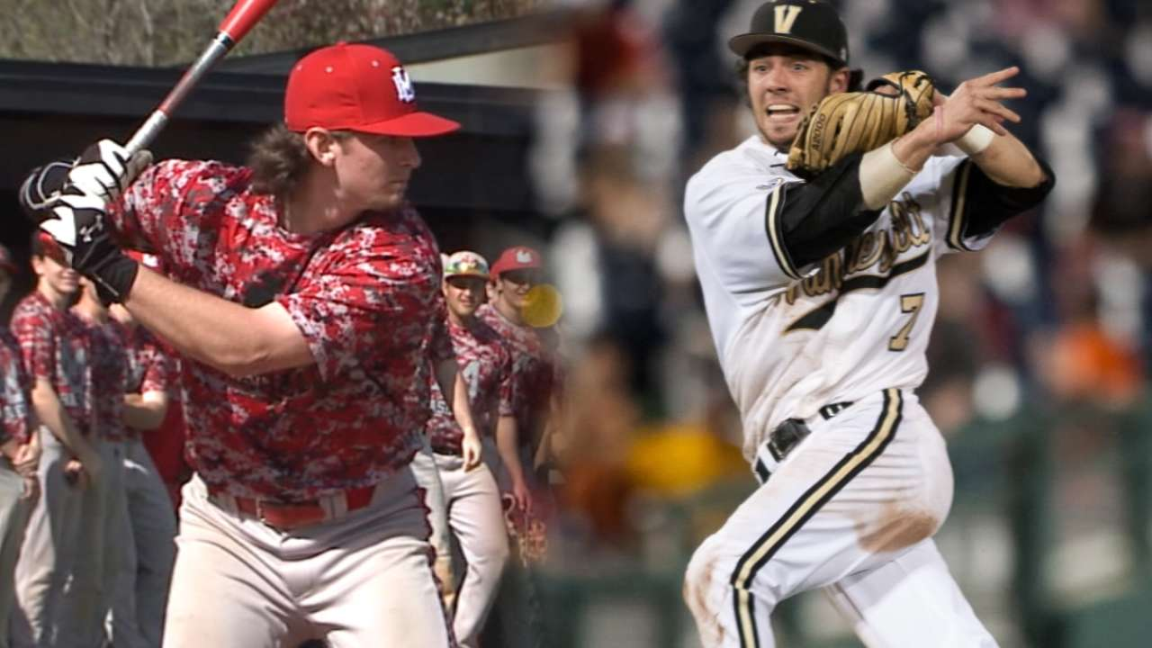 Best tools in the Draft: Middle infielders