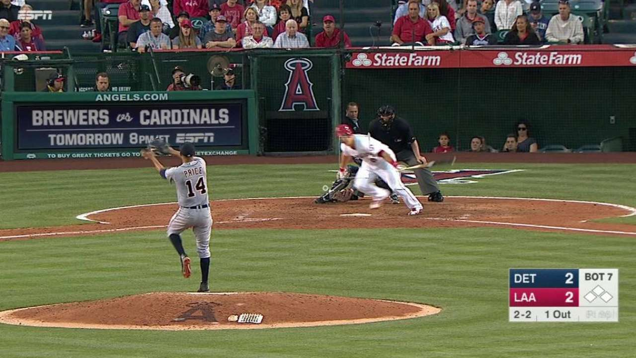 Price's second quick grab