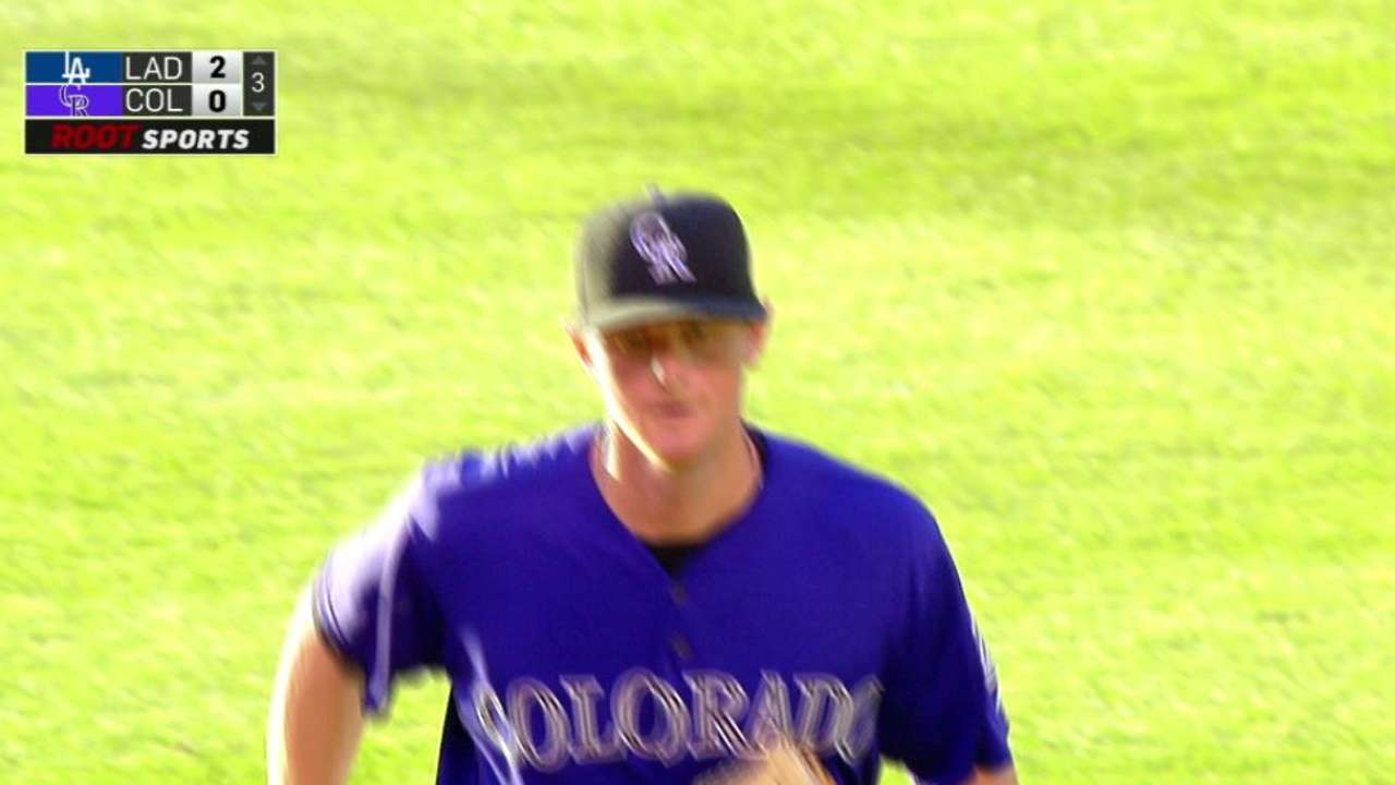 LeMahieu's double play on liner