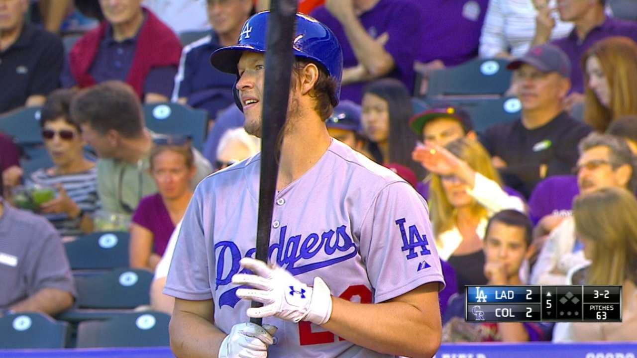 Kershaw continues dominance over Rockies
