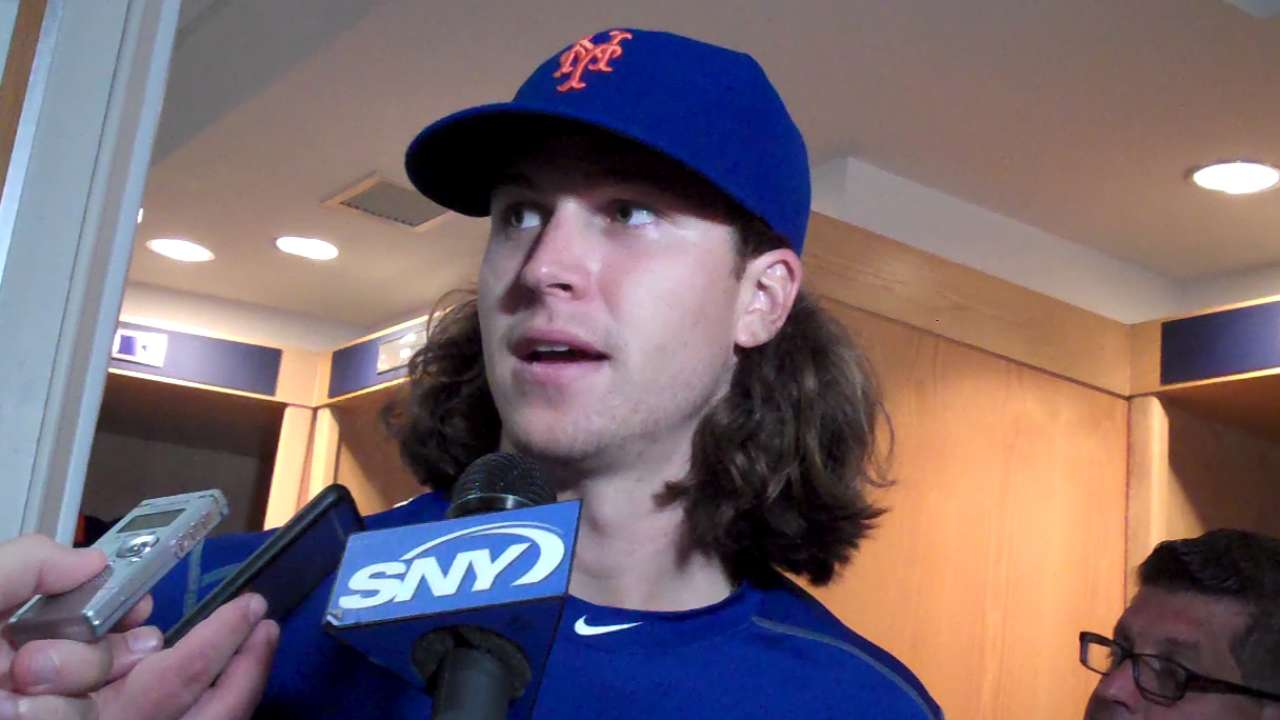deGrom, Murphy on Mets win