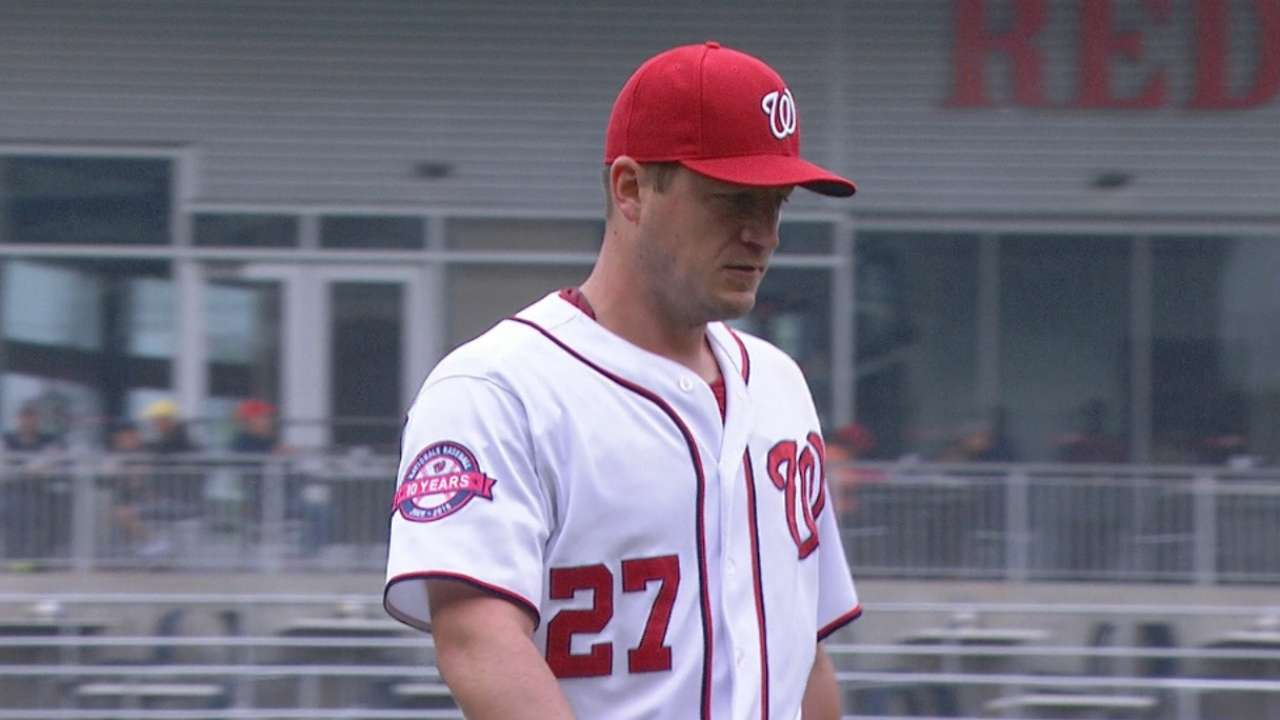 Zimmermann dominates Blue Jays in first of two
