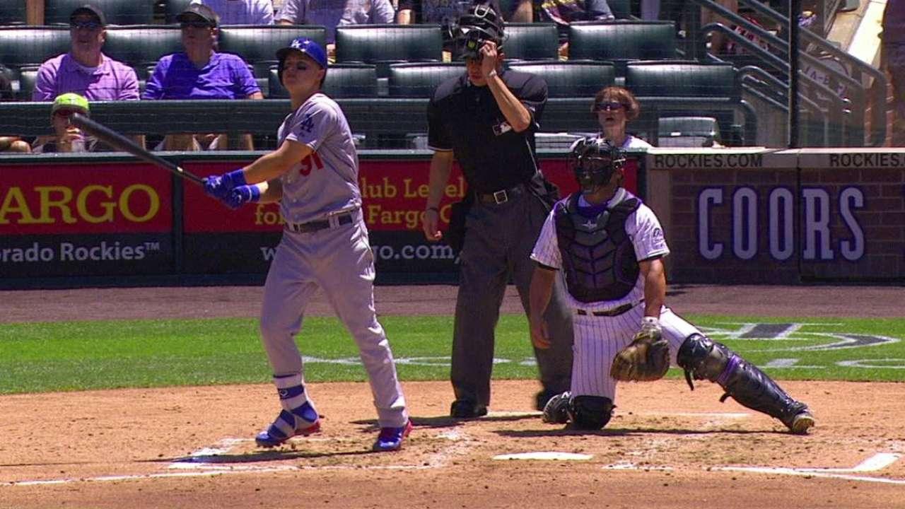 Dodgers caen vs. Rockies pese a otro HR de Pederson