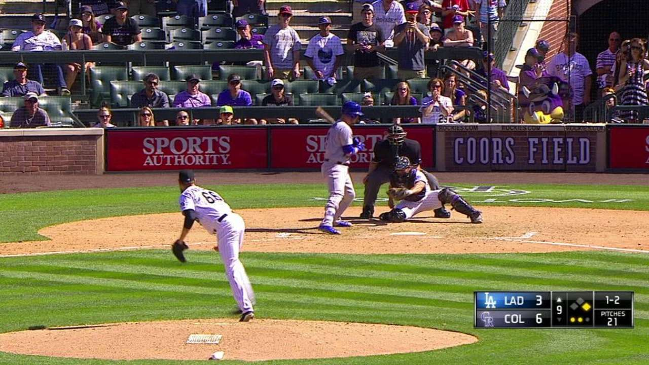 Axford finds serenity on Coors Field mound