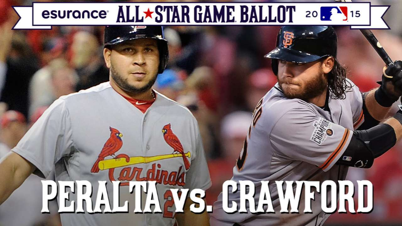 ASG debate: Crawford-Peralta a toss-up for top NL shortstop