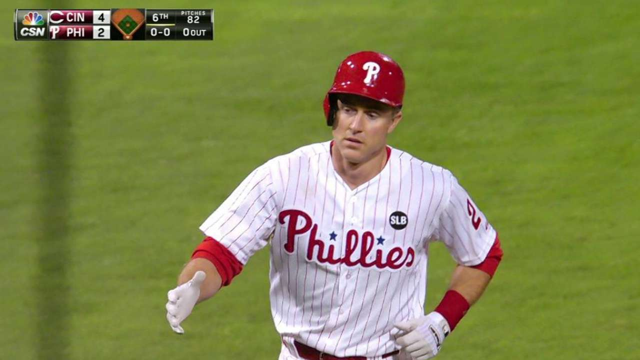Utley's average continues to climb
