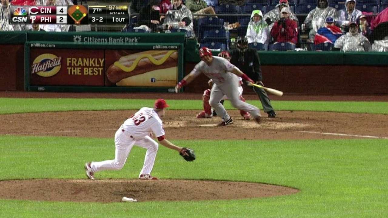 Phillies recall Diekman, designate McGowan
