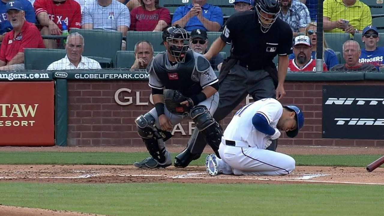 Chirinos leaves early